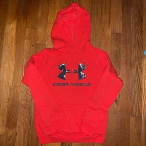 Set of 2 Under Armour Logo Hoodies Youth Small